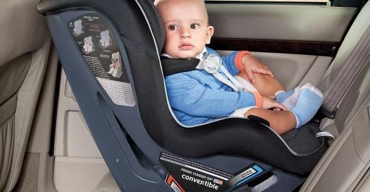 Ασφάλεια του μωρού στο αυτοκίνητο