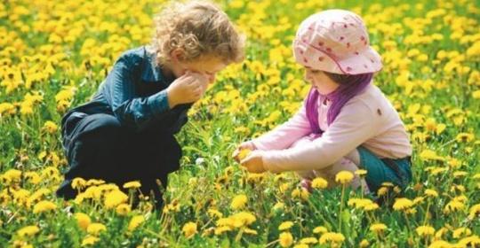 Πώς θα προστατέψουμε το παιδί από τις αλλεργίες της άνοιξης